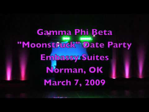 Nexus Productions Inc. Amazing Sorority Party Gig Log with Intense Light Show