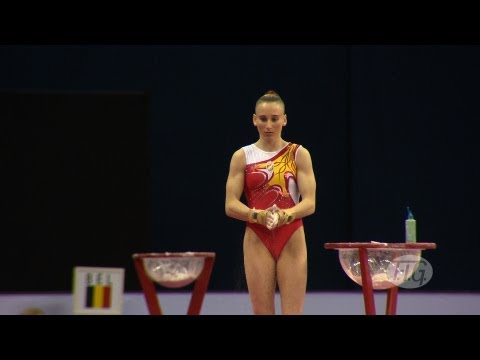 Olympic Qualifications 2012 -- Claudia MENENDEZ GONGALEZ (ESP) - VT