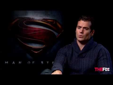 Henry Cavill talks 'Man of Steel', 'Justice League' movie, junk food and Russell Crowe
