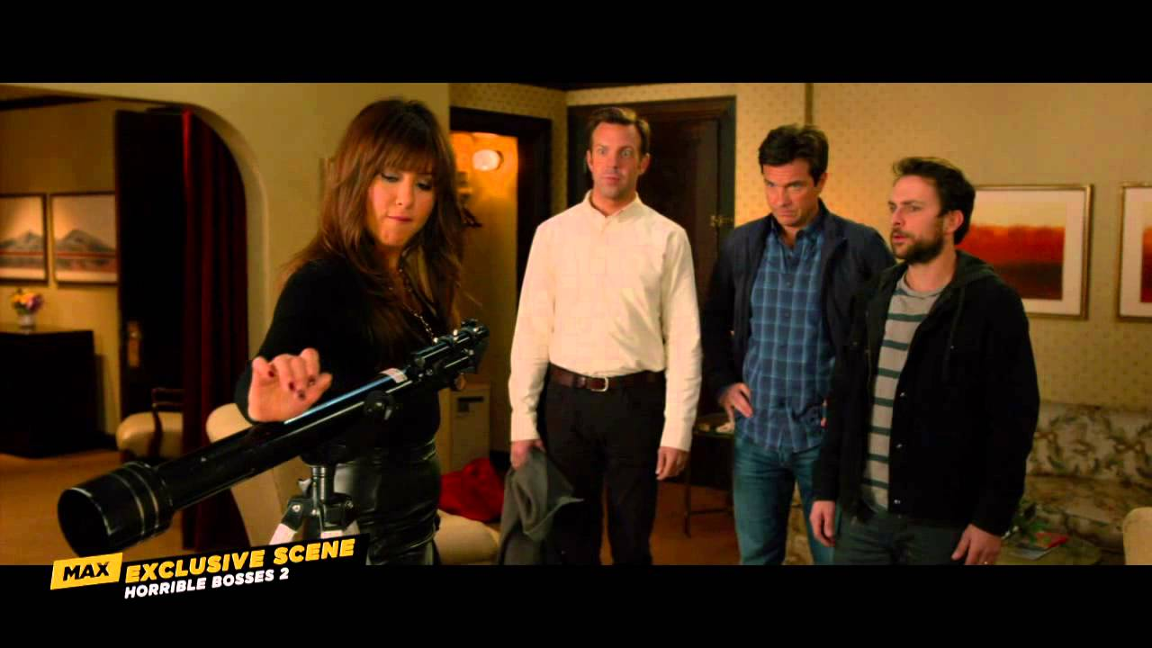 Jennifer aniston horrible bosses scene