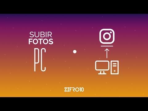 USAR Y SUBIR FOTOS EN INSTAGRAM DESDE PC Y MAC SIN EMULADORES