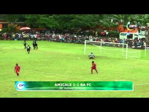 2013 OFC Champions League 2013.04.20 Amicale FC vs Ba FC Highlights