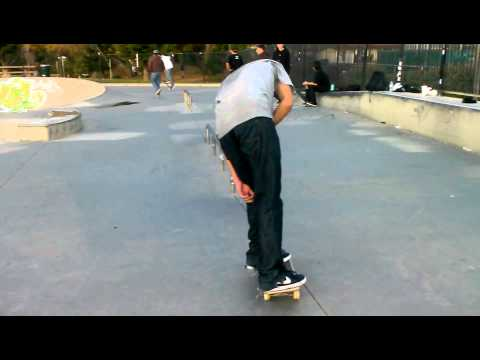 Miguel Rodriguez backtail bigspin