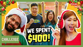 Shopping Challenge: We Spend $400 On Our Fans!!