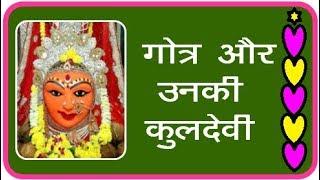 #Gotra - 24  #Brahman #Gotra aur unki #Kuldevi...श्रीसिद्धी
