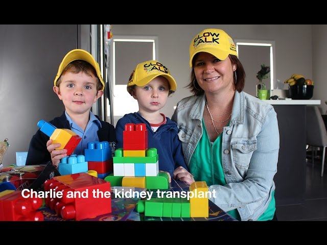Charlie and the KidneyTransplant