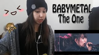BABYMETAL - THE ONE (OFFICIAL)  _ REACTION
