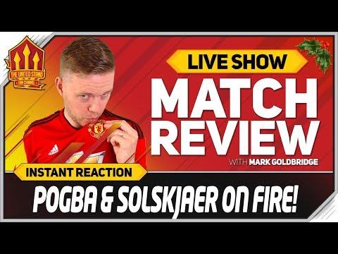 Goldbridge POGBA WORLD CLASS Cardiff vs Manchester United 1-5