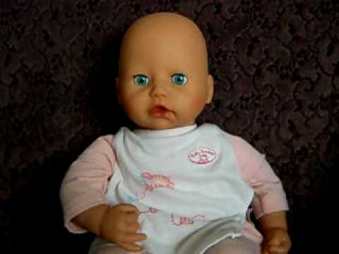 2005 Zapf Creation Quot Baby Annabell Quot Doll Youtube