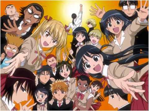 My top 10 romantic/comedy/ecchi animes
