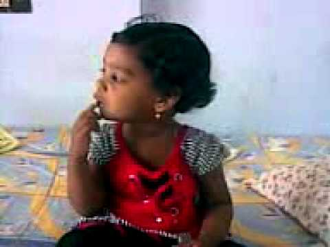 Small Girl Rhyme Chitti Chilakamma By Kundi video