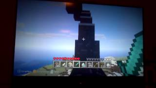 Little kids try to summon / search for Herobrine Minecraft Multiplayer Xbox 360