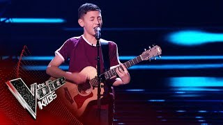 Conor Performs His Original Song 'That Girl I Met' | Blind Auditions | The Voice Kids UK 2019