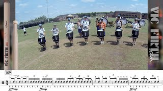 2014 Carolina Crown Snares - LEARN THE MUSIC!