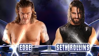 Edge vs. Seth Rollins: Fantasy Match-Up