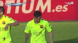 #من_الذاكرة هدف ميسي ضد اتلتيكو مدريد الذي حسم لقب الليغا 2015 لصالح برشلونة -HD