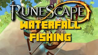 Runescape: Waterfall Xp Rates and Rewards - Fastest Fishing Xp Rates - iAm Naveed 2015