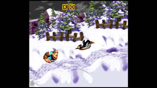 Lemguin Lunge (103%) - Donkey Kong Country 3: Dixie Kong's Double Trouble! 103% Walkthrough