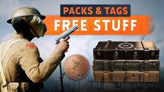► FREE BATTLEPACKS & DOG TAGS! - Battlefield 1 (Valentine's Day)