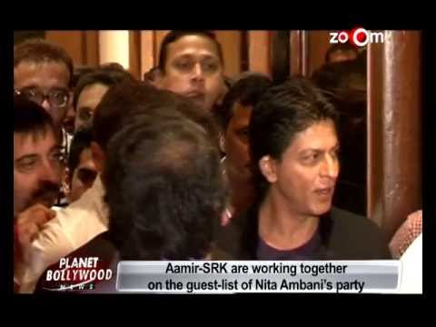 Planet Bollywood News - Aamir Khan & Shahrukh Khan are working together, Shahid's sister Sanah to debut in Bollywood & more