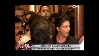 Planet Bollywood News - Aamir Khan & Shahrukh Khan are working together, Shahid