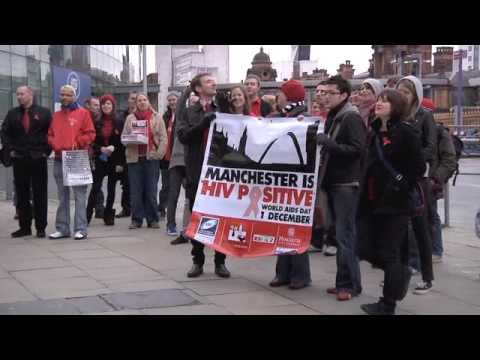 Manchester is HIV Positive Flashmob