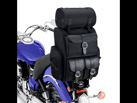 Extra Large Motorcycle Sissy Bar Bag Review