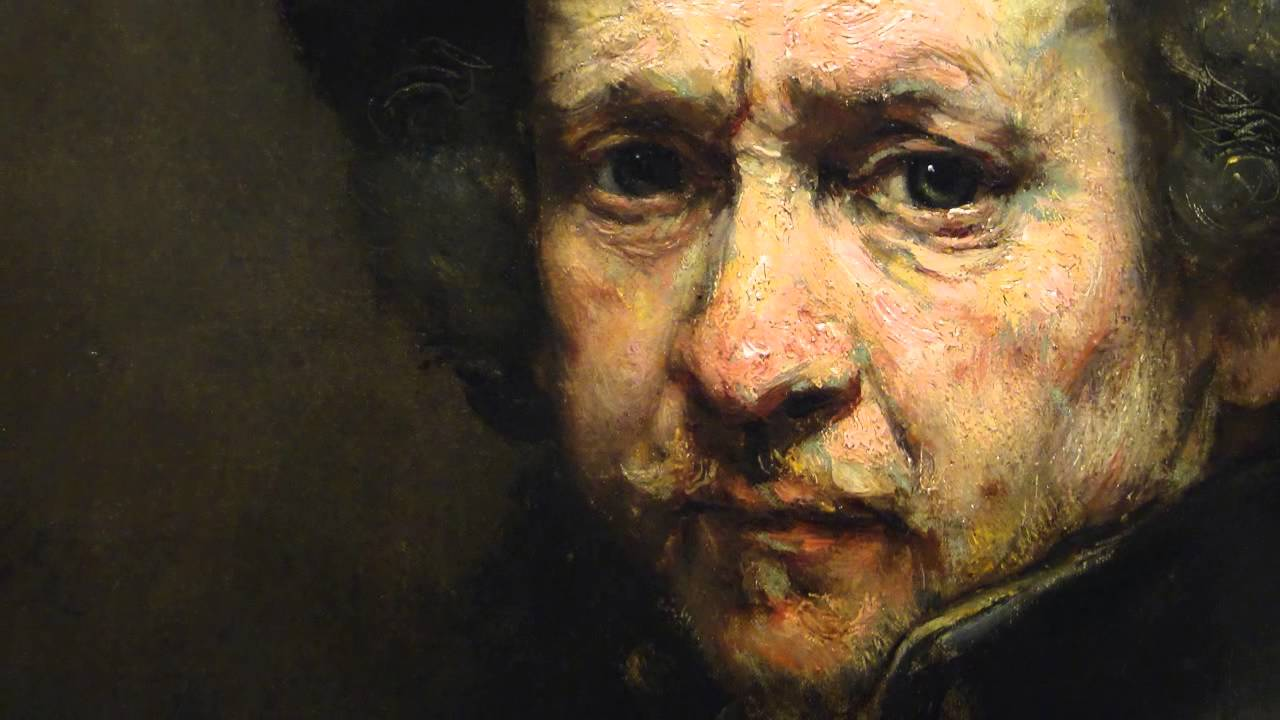 Rembrandt Portraits Rembrandt  Self-Portrait  1659