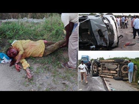 నందమూరి హరికృష్ణకు తీవ్రగాయాలు |Nandamuri Hari Krishna Met With Road Accident in Nalgonda | CVR NEWS