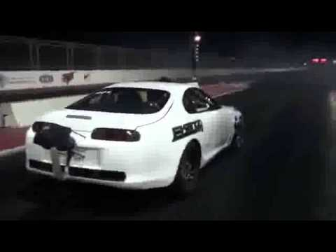 Toyota Supra With 2200 HP klip izle