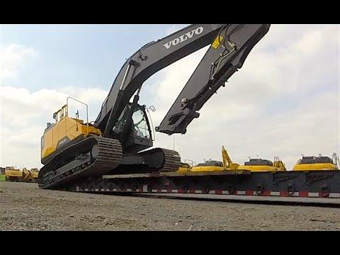 Heavy Haul TV: Volvo EC300EL; 66,640 LBs; Pennsylvania to Quebec, Part 1