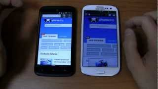 HTC One X+ vs. Samsung Galaxy S III Dogfight Part 2