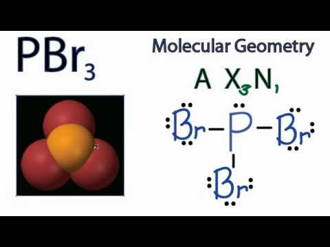 Sbr2 Molecular Geometry Pbr3 molecular geometry / shape and bond ...