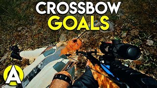 CROSSBOW GOALS - PUBG Solo FPP Stream Highlights