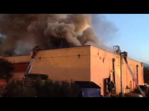 Tucson Fire Department Battles 2 Alarm Fire at Guadalajara Grill