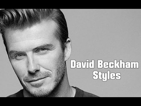 David Beckham Fashion and Style Looks