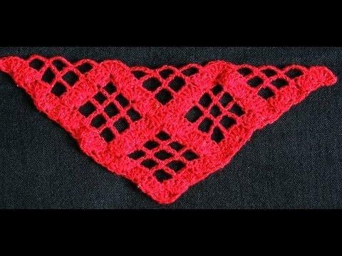 Crochet : Punto para Chal en