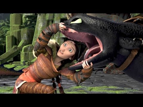 """Retractable Teeth"" How To Train Your Dragon 2 Movie Clip"