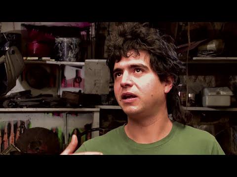 Felipe Ruiz y el arte de la chatarra