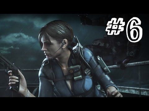 Resident Evil Revelations Gameplay Walkthrough Part 6 - Comms Officer Fight - Campaign Episode 3