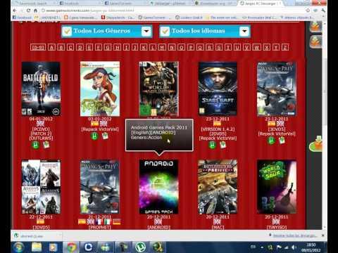 Tutorial Descargar Juegos de Utorrent y JDownloader