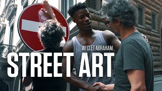 Jimmy tries ep 2: Street Art with Clet Abraham
