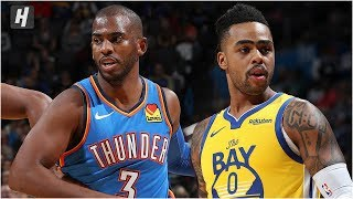 Golden State Warriors vs Oklahoma City Thunder - Full Game Highlights | November 9, 2019 NBA Season
