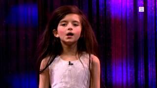 """Анжелина Джордан ( 7 лет)  """"The Late Show"""""""