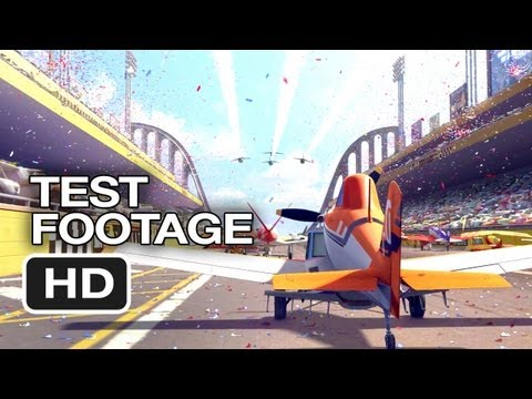 Planes TEST FOOTAGE (2013) - Dane Cook, Val Kilmer Disney Movie HD