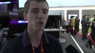 LG 1080p OLED 55 TV Demo - This Will be Available Soon! Linus Tech Tips CES 2013