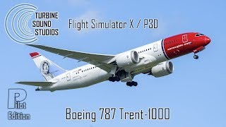 TSS - Boeing 787 RR-Trent-1000 FSX / P3D