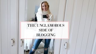 Day in the Life of a Blogger - the UNGLAMOROUS version!!   |   Fashion Mumblr VLOGTOBER