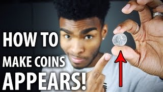 How to do COINS appearing magic trick in your hands!