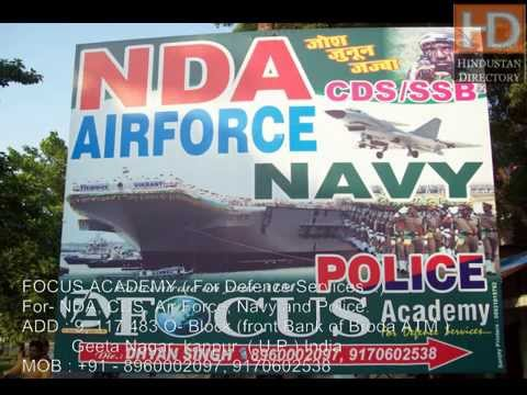 Focus Academy Kanpur For Defence Services